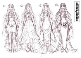 Avatea. Concept Sheet Two. by DoubleCluepon