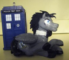 Discord Whooves Sculpture by JitterbugJive