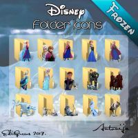 Disney Folder Icons - Frozen by EditQeens