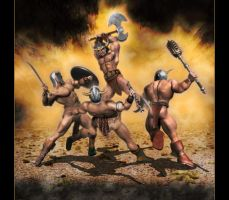 Barbarian's Rage II by Vehemel