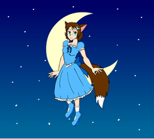 Bj Coyote Neco by light of the moon by Bjnix248