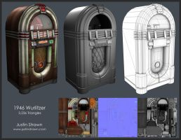 1946 Wurlitzer Jukebox by JustinMs66