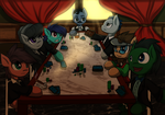 Mafia Gathering by KairaAnix
