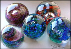 Paperweights by andromeda