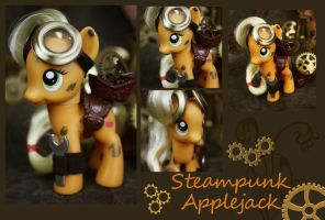 Applejack Steampunk by bluepaws21