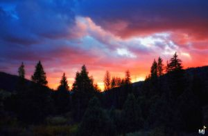 Fire in the Sky by mjohanson