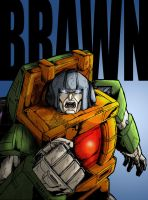Autobot Brawn color by Optimus8404