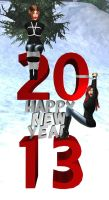 Happy New Year 2013 by EthereaS