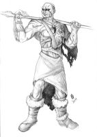 Commission - Goliath Shaman by TheWildGrape