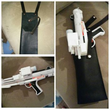 Star wars e-11 holster and conversion by inkstress