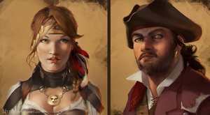 Pirates by LhuvIk