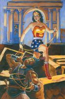 wonder woman by stephen53