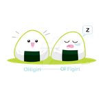 ONigiri OFFigiri by kimchikawaii