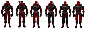 Deapool Redesigns by SplendorEnt