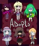 Adoptables Auction  OPEN by DiaNightray
