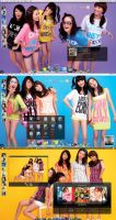 Wonder girls by Edl21