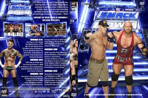 WWE Smackdown November 2013 DVD Cover by Chirantha