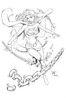 SuperGirl Inks by devgear