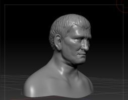 Agrippa head sculpt by articraft