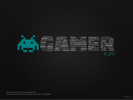 Gamer for Life Desktop Wallpaper by ChucklesMedia