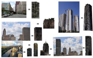 Buildings references by Henrique-Rozada