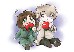 APH: Have a Strawberry by NiaNook33