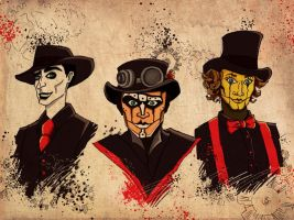 Steam powered giraffe by MarinaVeselinovic