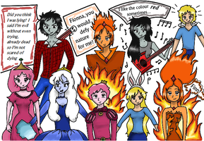 AT Characters and Quotes! by LeighAniME