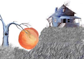 James and the Giant Peach set by orangeisblue