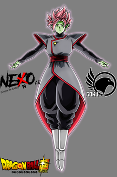 Merged Zamasu Super Saiyan Rose DBS by Gokussj20