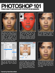 Photoshop 101 - Fixing skin by KateBloomfield