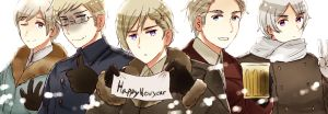 Happy Newyear 2015!! by partee6554