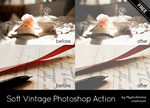 Soft Vintage Photoshop Action by MysticEmma