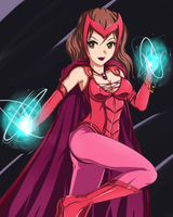 The Scarlet Witch by SigurdHosenfeld
