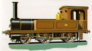 The First Locomotive in Japan by SteamRailwayCompany