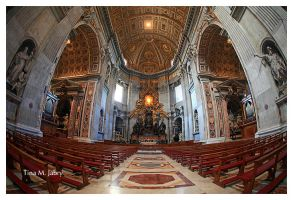 St Peter's Basilica. int by fallen-angel-24