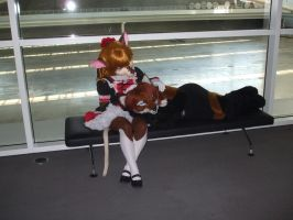 And the fox shall lay with the mouse by Rabbette