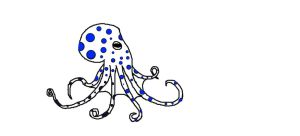 Blue-Ringed Octopus WIP by snoopysoap