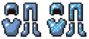 Minecraft Frozen Armors by DBZ2010