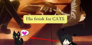 Shimeji: Sebastian loves Cats by Fartburp