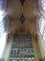 Bath Abbey Interior by SimonCleary17