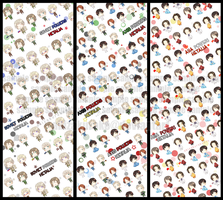 APH BOOKMARKS .NEW. by akizakurako