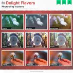Delight Flavors Photoshop Actions by Wnison