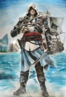 Captain Edward Kenway by Leon8524
