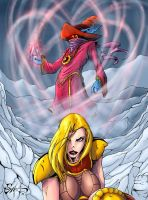 Orko and Adora by shawnmp