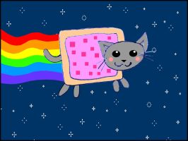 Nyan Cat by jagged66