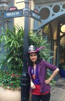 Dr.Facilier at New Orleans Square by Izin