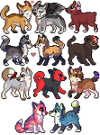 Icons: batch 1 by whitepup