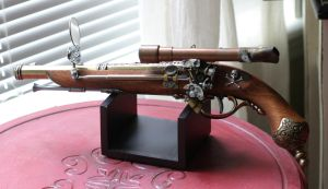 Steampunk Sky Pirate Flintlock by Frijoleluna