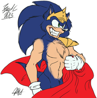 King Sonic by PYC-Art